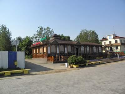 Прибрежное кафе в Зеленоградске